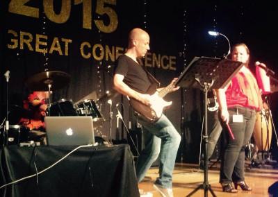 Performing at EARCOS 2015 in Kota Kinabalu, Malaysia