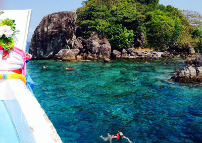 Snorkeling near Ko Chang, Thailand