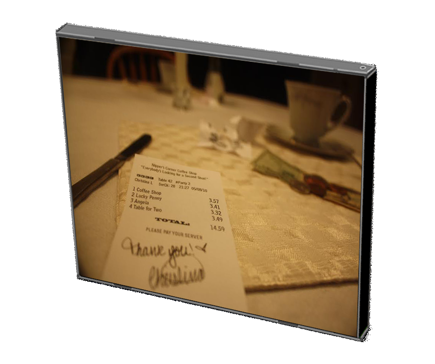 Table for Two Back Cover