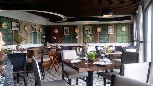 City View Cafe Hanoi Inside